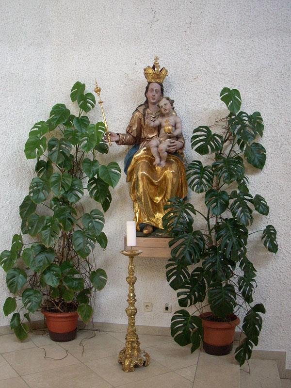 Die Madonna wurde 2015 restauriert