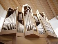 Die Orgel mit 12 Registern