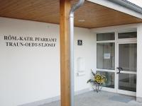 Eingang zum Pfarramt
