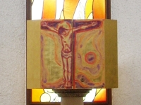 """""""Jesus am Kreuz"""" von Prof. Hans Plank"""